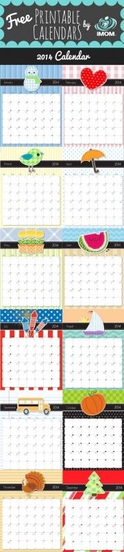 2016 Printable Calendar Free Printable Calendar Handmade