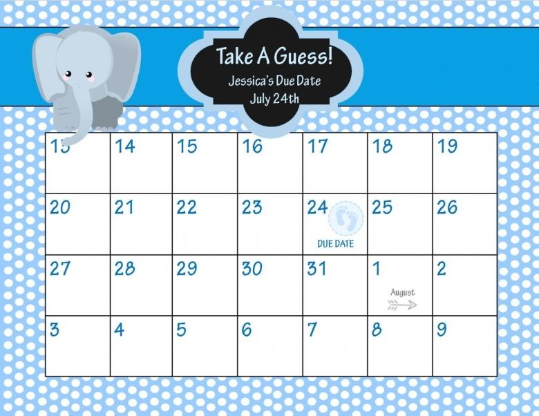 8 Best Images Of Ba Pool Calendar Printable Ba Pool Template