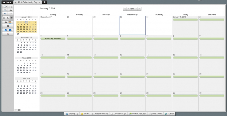 Make A 2016 Calendar In Excel Includes Free Template