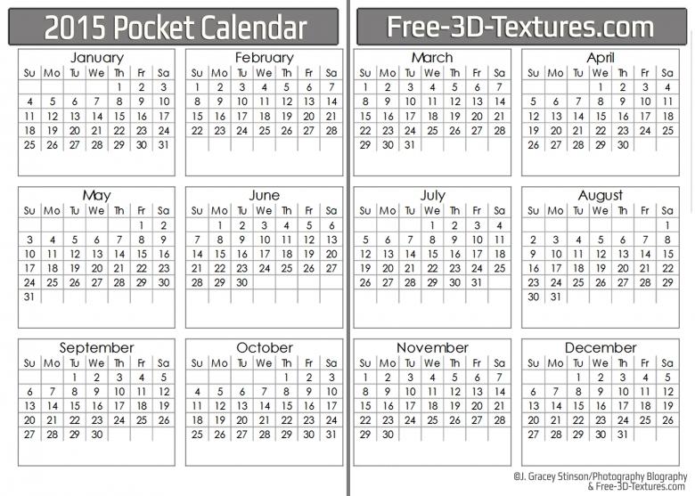 7 Best Images Of Pocket Calendar 2016 Printable Business Card  Xjb