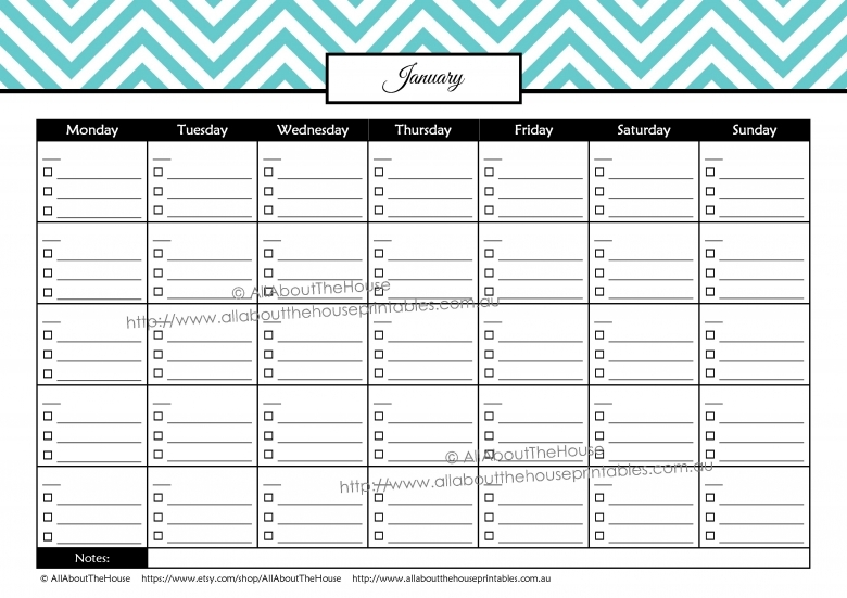 8 Best Images Of Printable Budget Calendar Free Printable Bill3abry