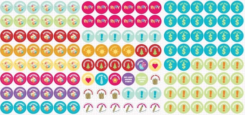 8 Best Images Of Reminder Free Printable Planner Sticker Free 89uj
