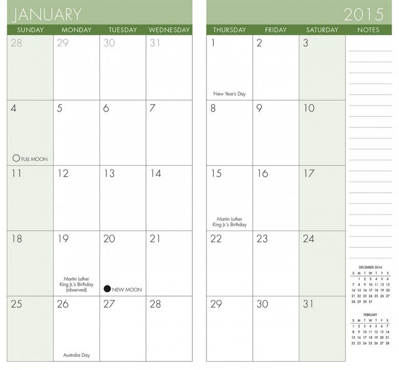 9 Best Images Of Free 2015 Pocket Calendar Planner Printable  Xjb