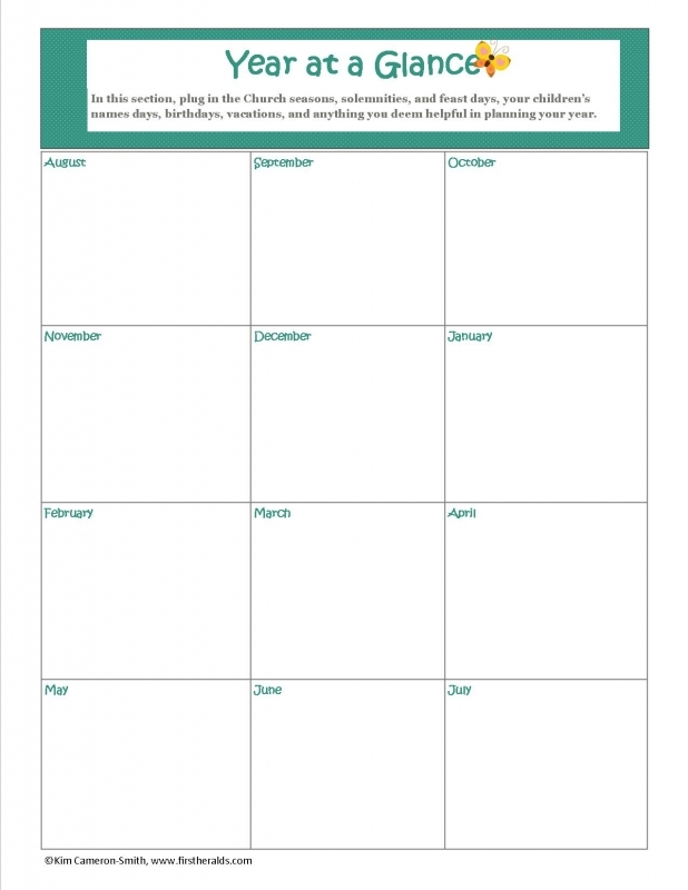 Customized Weekly Planner First Heralds3abry