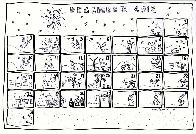 Se7en39s December And Free Printable Advent Calendar Se7en Se7en3abry