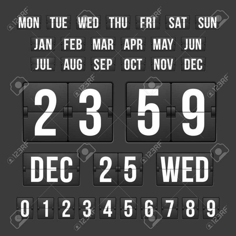 Tear Off Calendar Stock Vector Illustration And Royalty Free Tear  Xjb