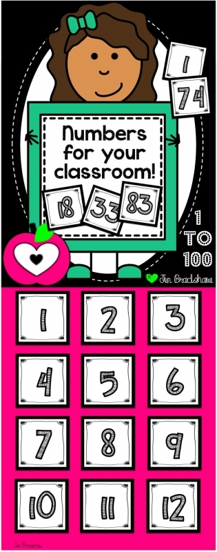 1000 Ideas About Calendar Numbers On Pinterest Desk Name Tags3abry