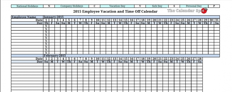 12 Employee Tracking Templates Excel Pdf Formats 89uj