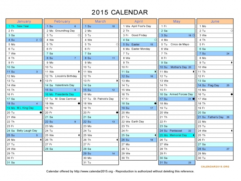 6 Best Images Of Printable 6 Month Planner 2015 Printable 2015 63abry