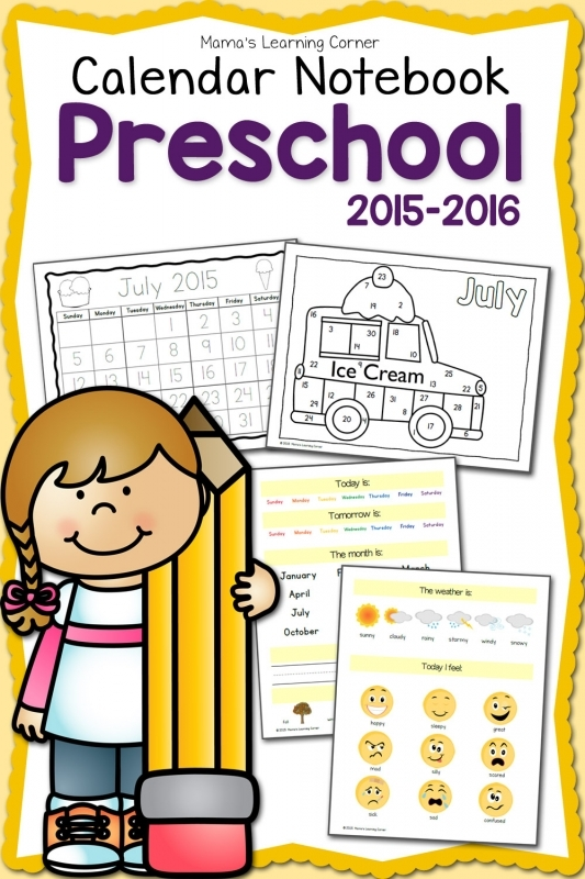 8 Best Images Of Kindergarten Calendar 2016 Printable Preschool3abry