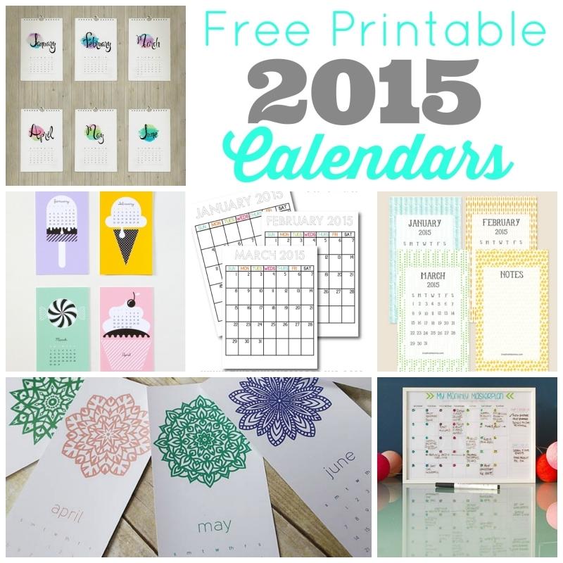 Free Printable 2015 Calendars Skip To My Lou3abry