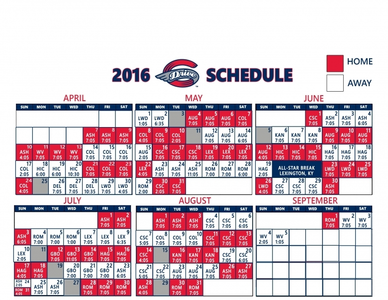 Greenville Drive Game Game Results Greenville Drive Schedule3abry