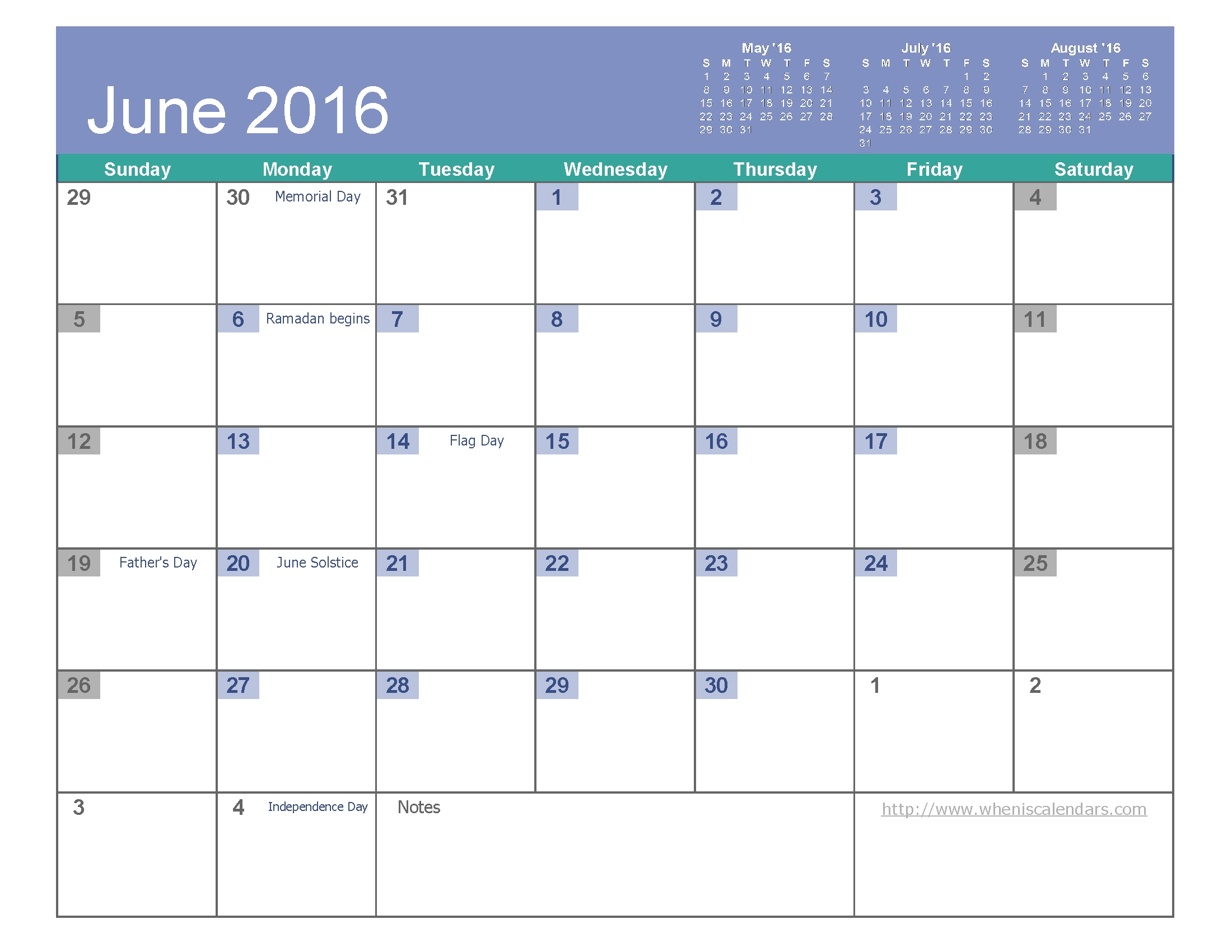 June 2016 Calendar Excel Free Calendar 20173abry