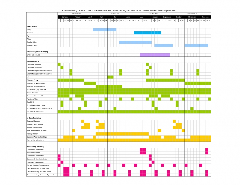 Online Marketing Calendar Planner Useful Online Tools  Xjb