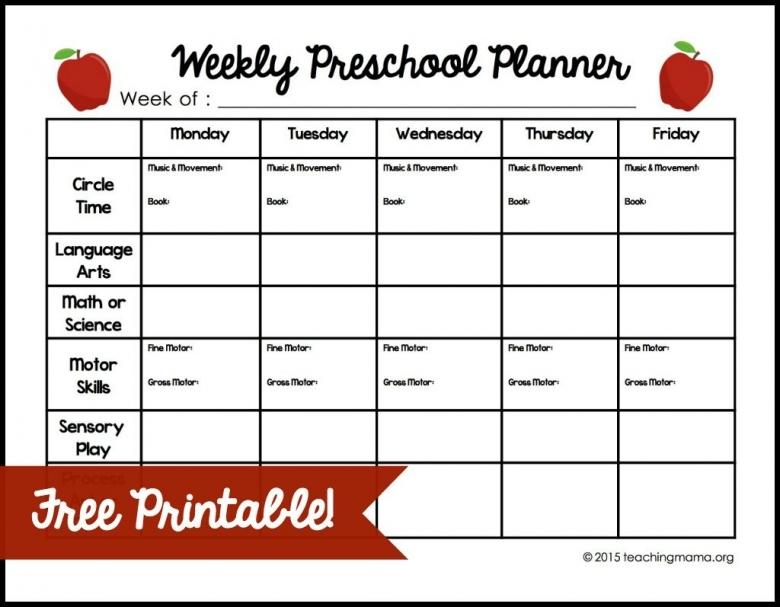 Weekly Preschool Planner3abry