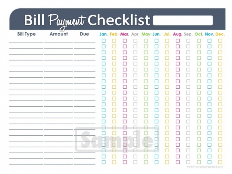 5 Best Images Of Printable Monthly Bill Payment Calendar  Xjb