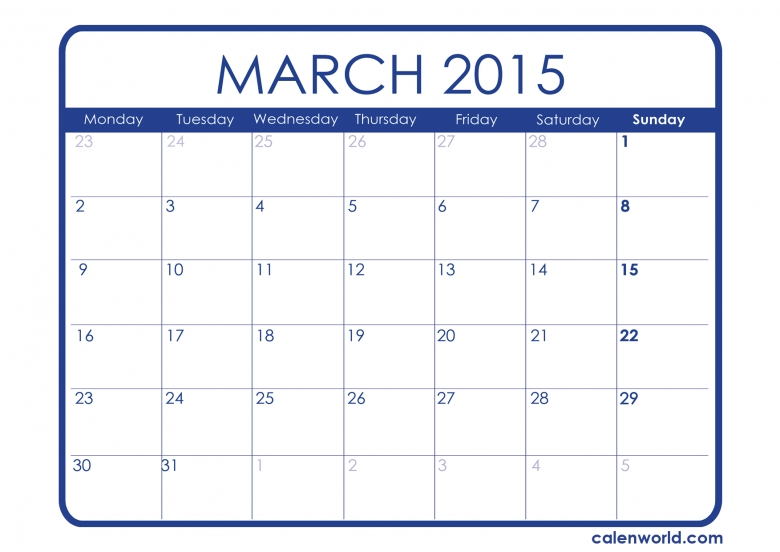 Calendar Printable Images Gallery Category Page 57 Printablee3abry