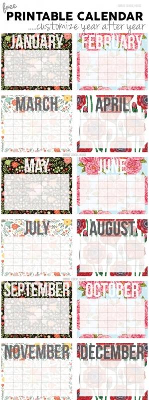 Free Calendar3abry
