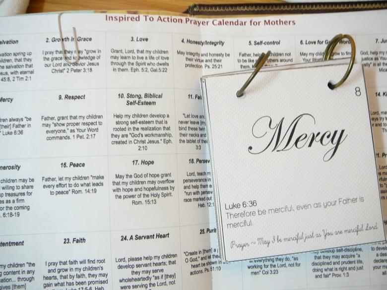 Scripture Prayer Calendar Practical Pages3abry