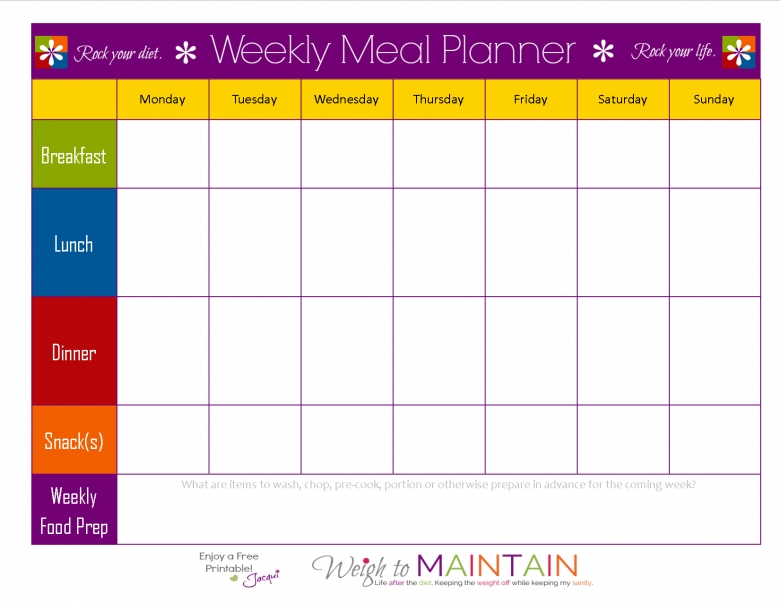 1000 Ideas About Meal Plan Templates On Pinterest Clean Eating3abry