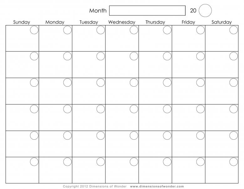 Free Monthly Calendar Layout Wall Calendar Office Depot3abry