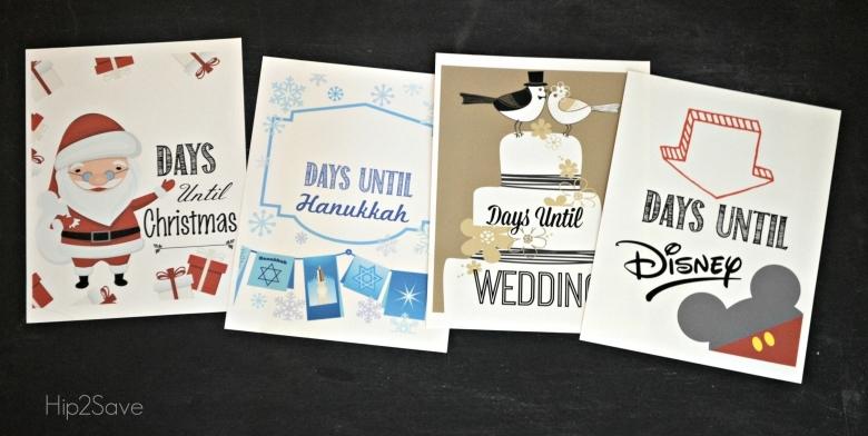 Homemade Christmas Countdown Free Printables For Christmas  xjb