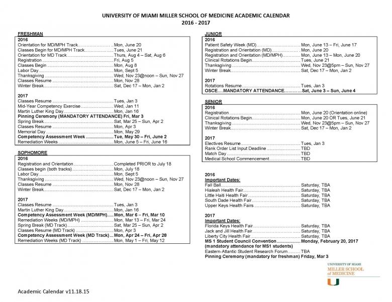 University Of Florida Academic Calendar 2016 Blog One3abry
