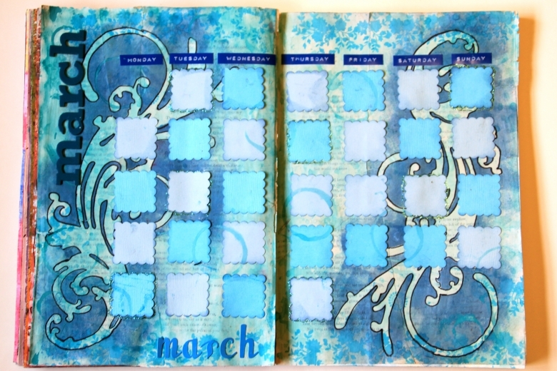Art Journal Diary Anything Goes Art Journal Page 2 89uj