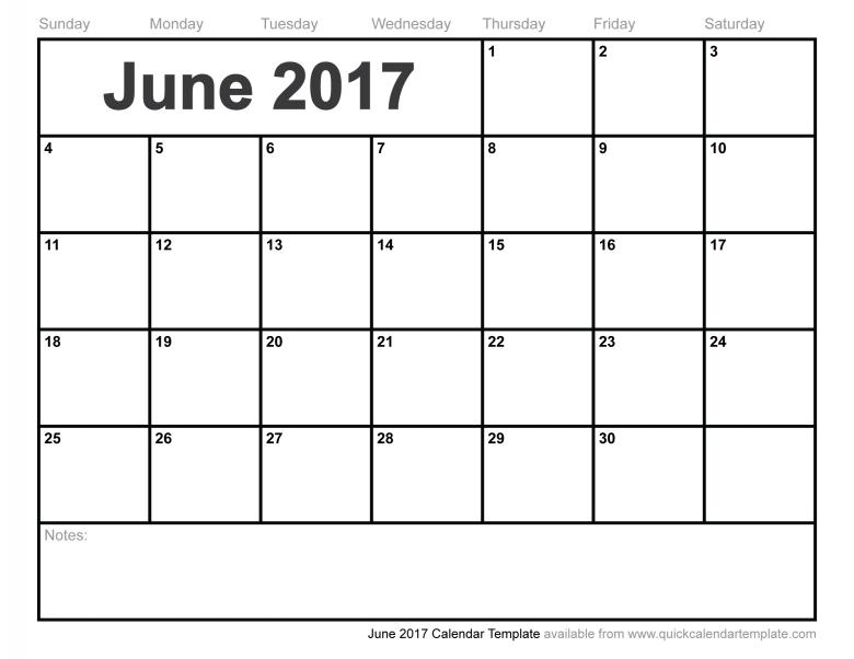 June Printable Calendar 2017 Free Download Work Calendar3abry