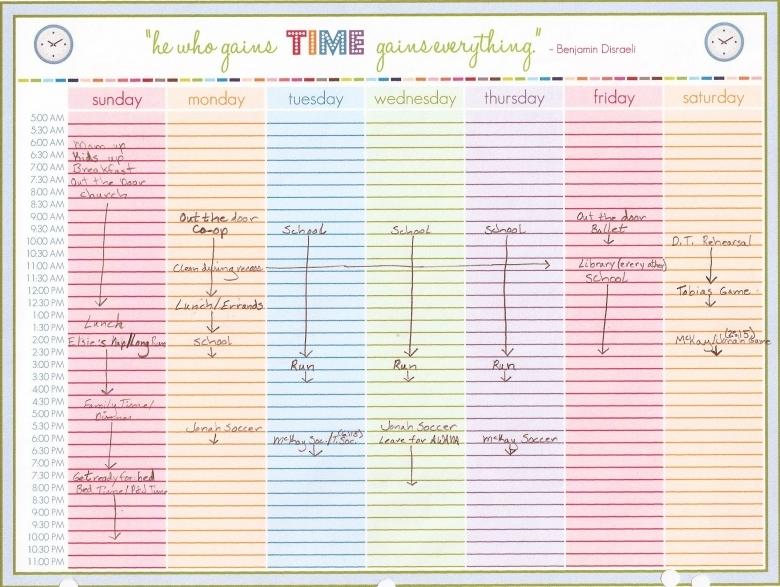 Weekly Calendar With Time Slots Template Weekly Calendar Template 89uj
