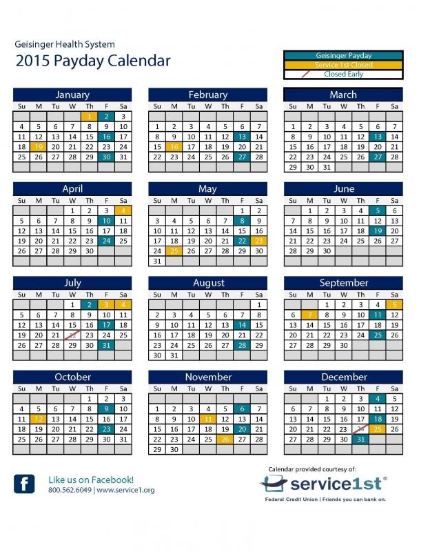 Pay Period Calendar 2016 Federal Government Blank Calendar  xjb