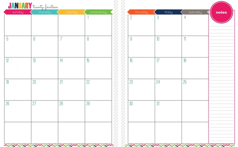 Two Page Calendar Templates 2017 Calendar Printable  xjb