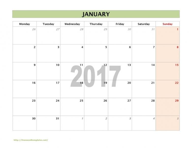 Calendar Templates 2017 Editable Specific Date 2017 Calendar 89uj