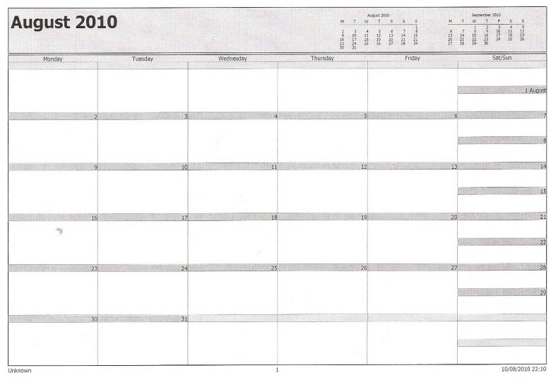 Philofaxy Microsoft Outlook Calendar Filofax3abry