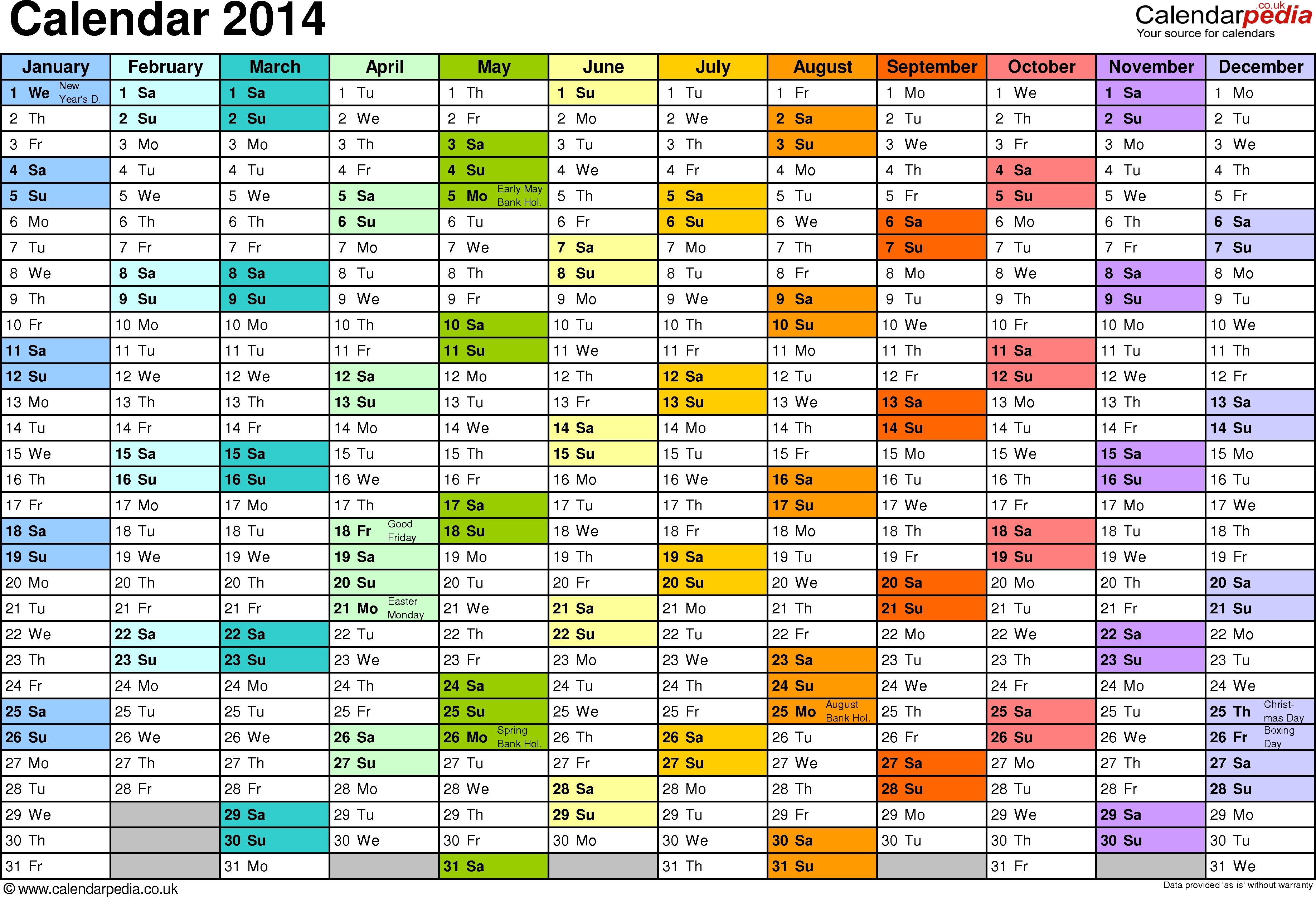 Training Calendar Template Excel Printable Online Calendar3abry