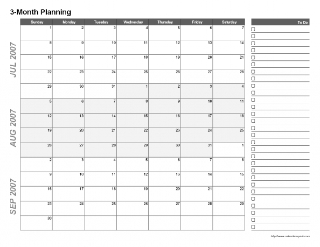 3 Month Calendar 2017 Printable Online Calendar 89uj