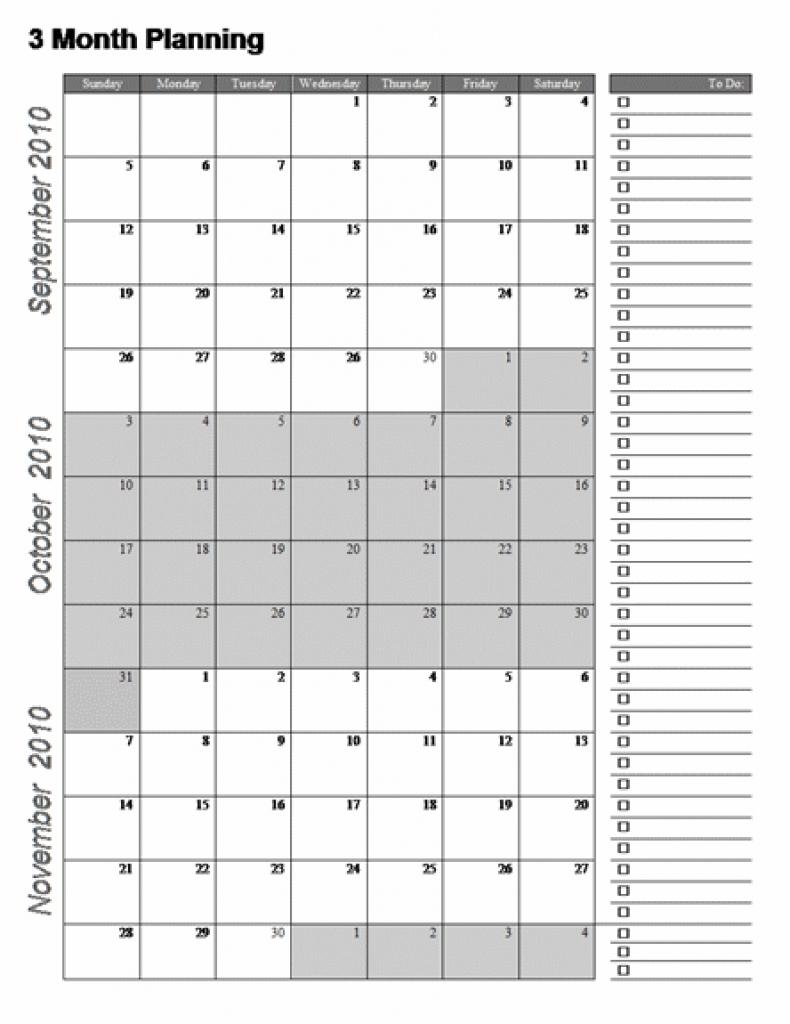 3 Month Printable Calendar Printable Online Calendar 89uj
