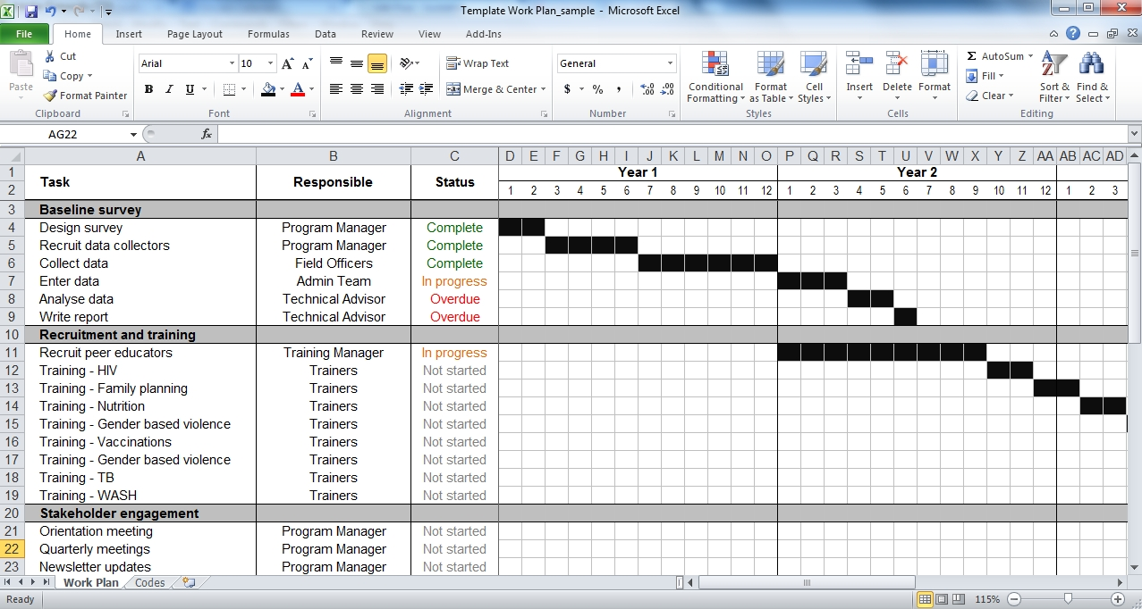 Excel Planner Template Avivah Co Newsletter Schedule Template  Xjb