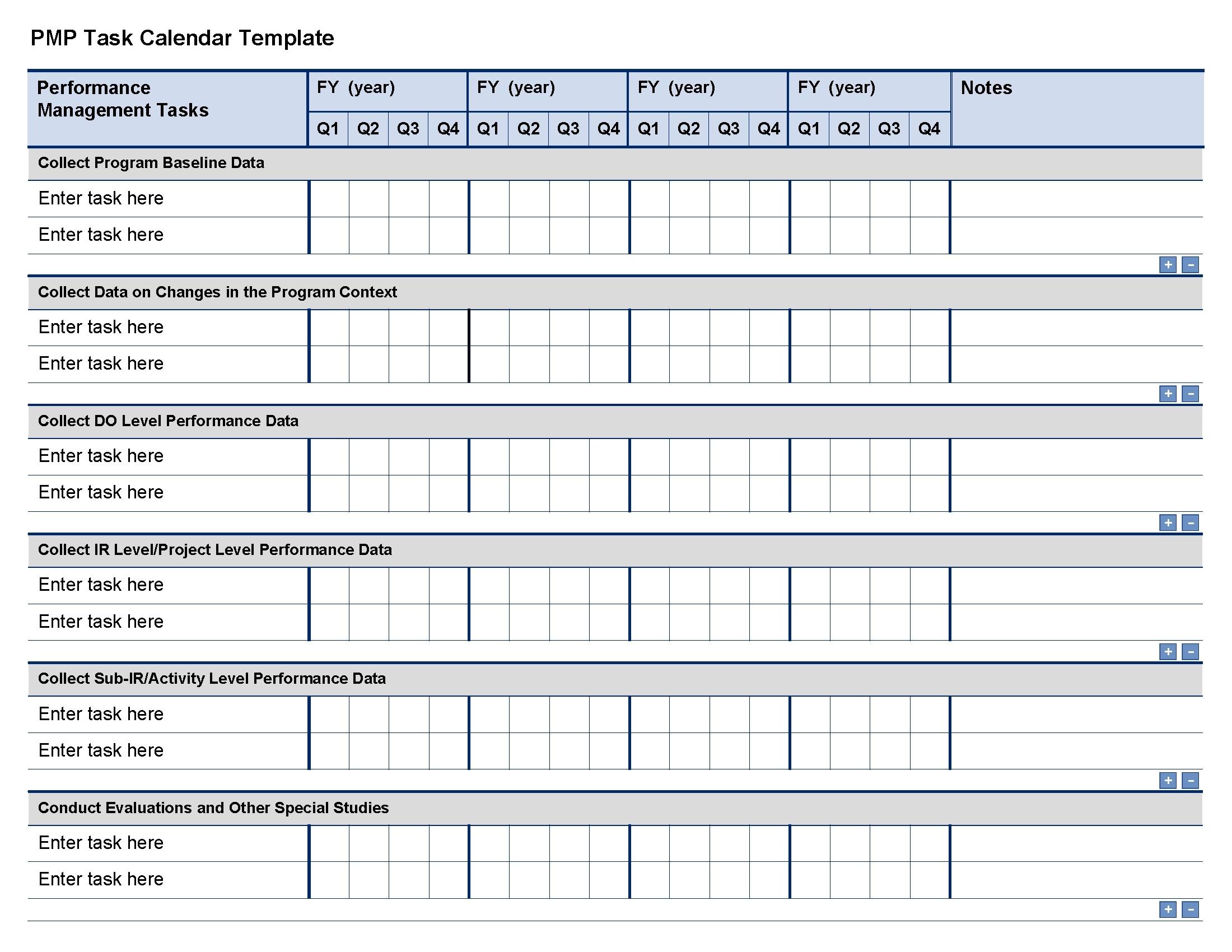 Task Calendar Template Printable Online Calendar3abry