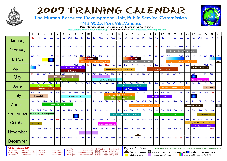 Training Calendars Templates Hatchurbanskriptco3abry