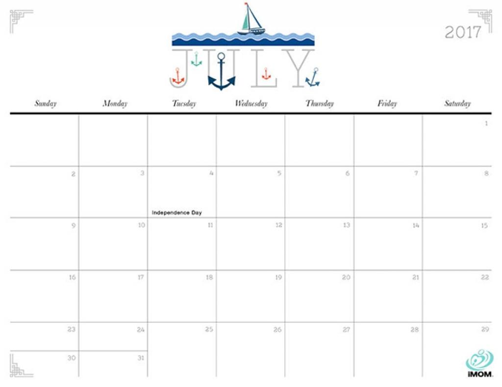 Cute And Crafty 2017 Printable Calendar Imom Example Printable 89uj