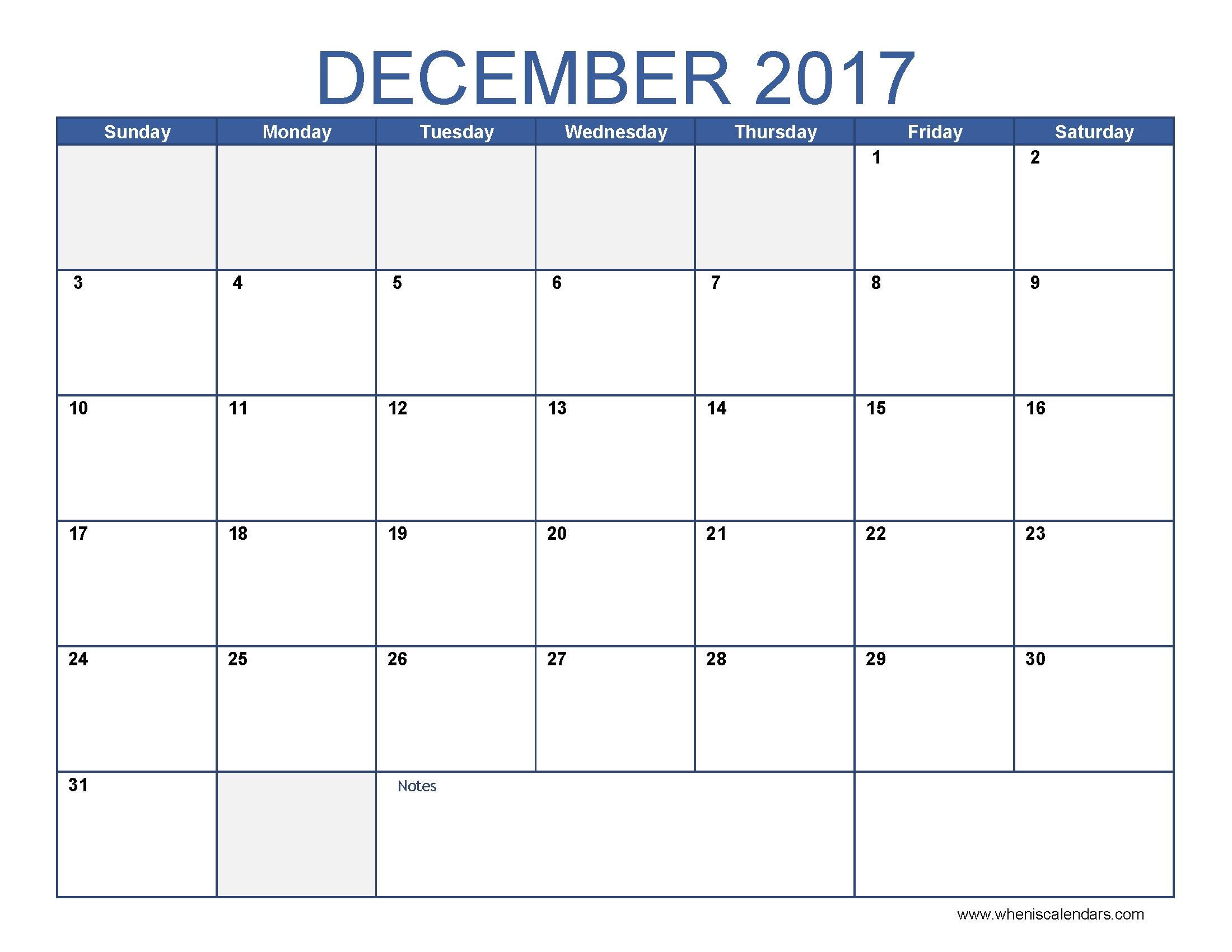December Calendar 2017 December 2017 Calendar Pinterest  Xjb