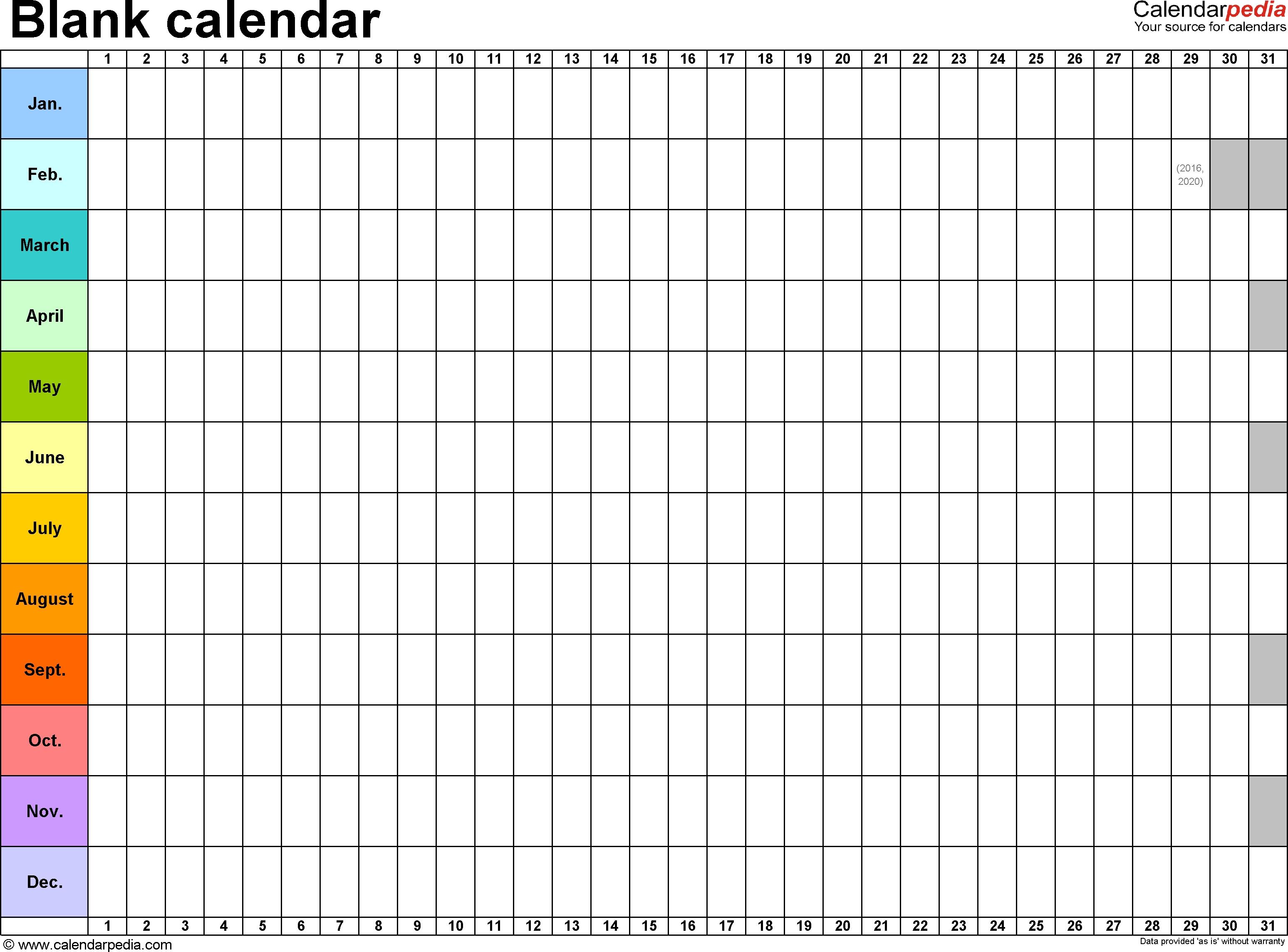 Editable And Printable Calendars Commonpenceco3abry