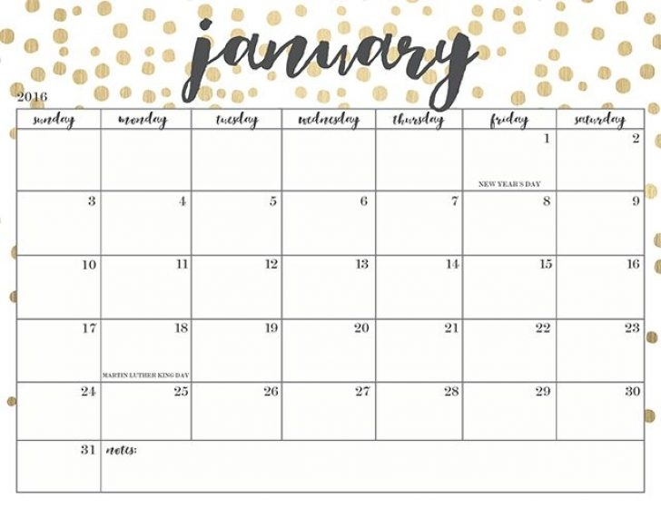 Free Printable Calendars 2018 Cute Fieldstationco