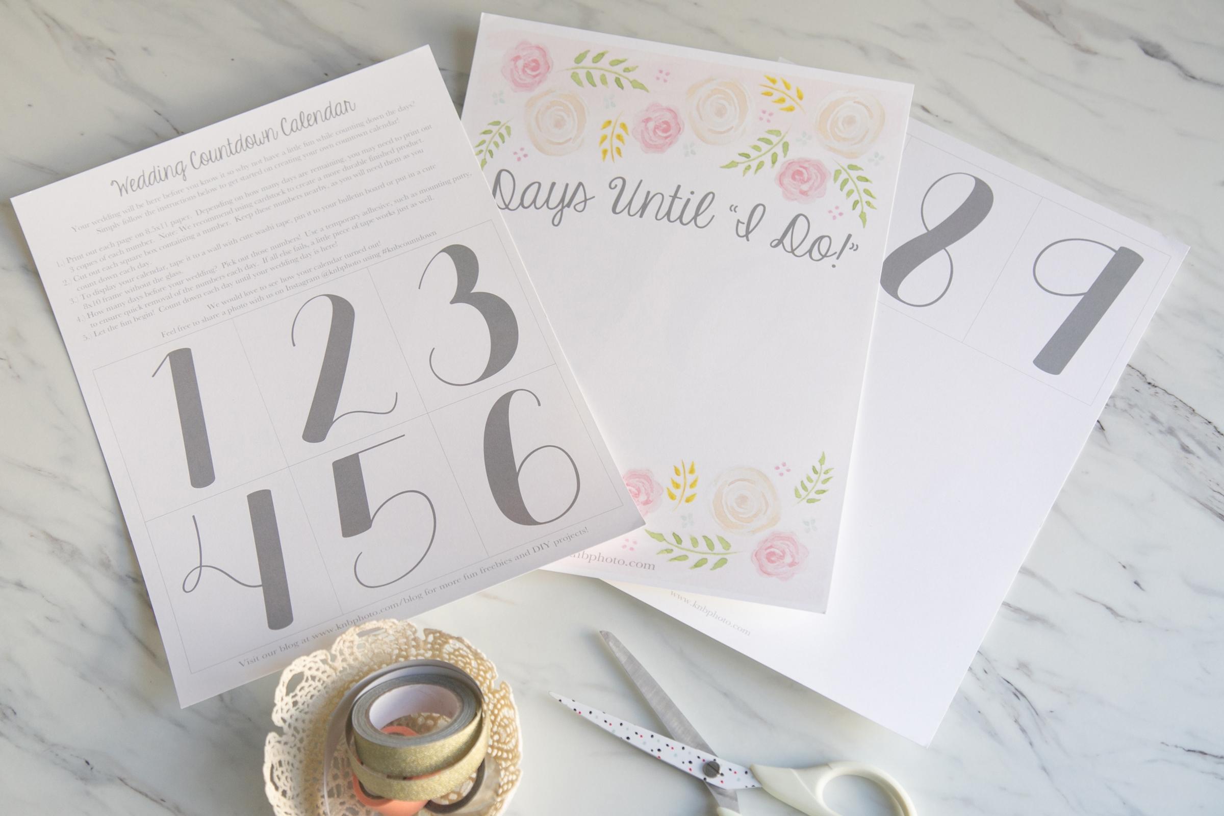 Kb Photography Our Blog Freebies A Printable Wedding