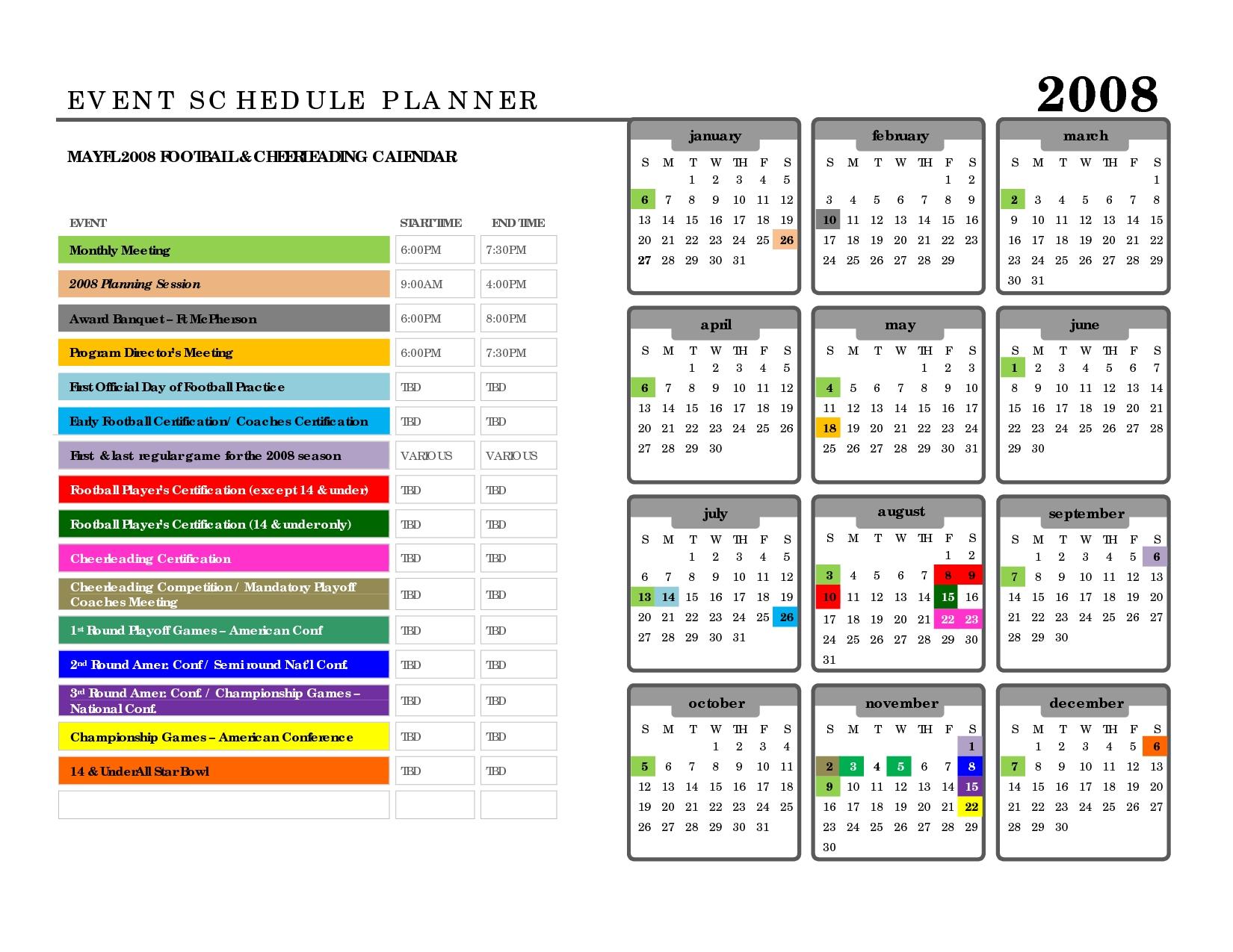 Microsoft Word Planner Template Fieldstationco3abry