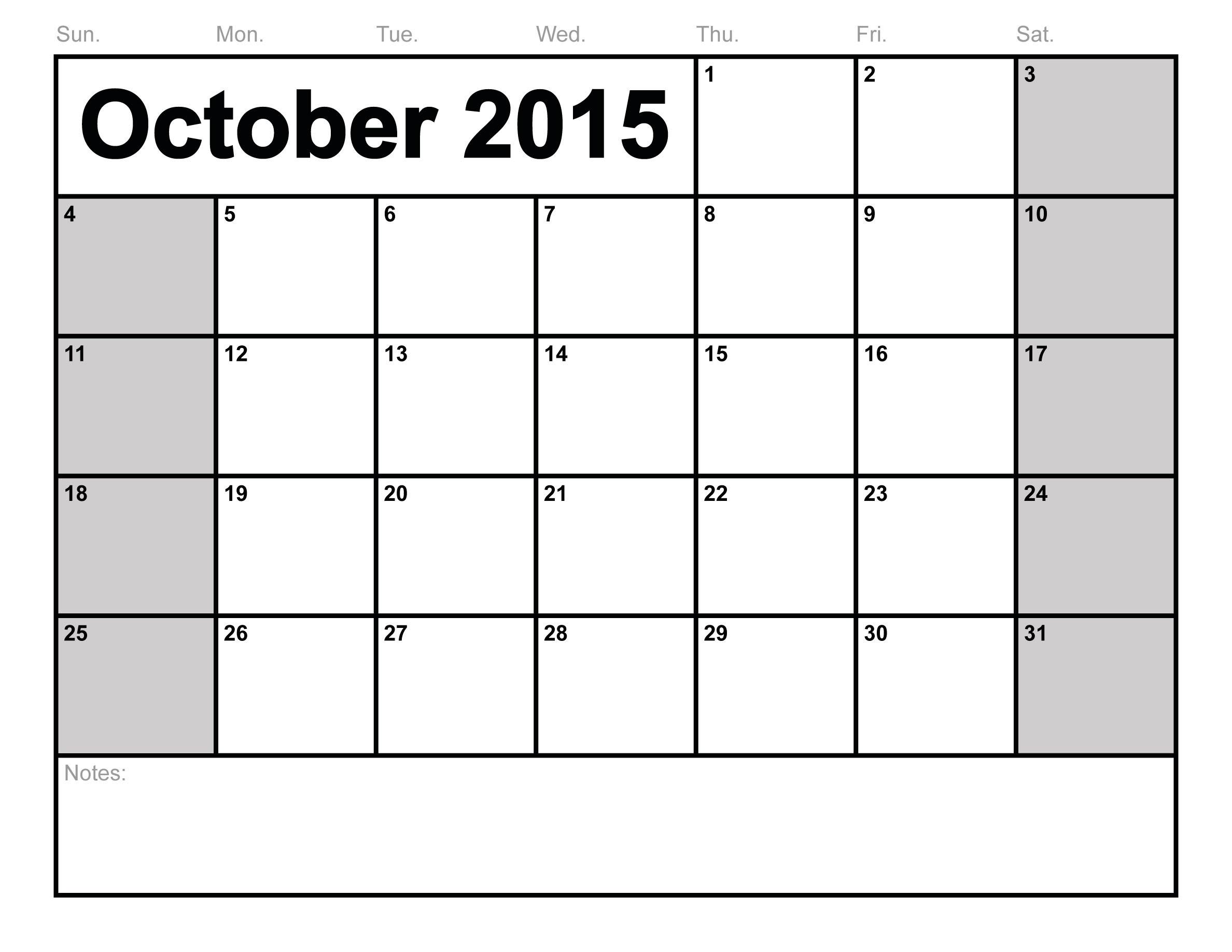 October Calendar Printable Fieldstationco 89uj