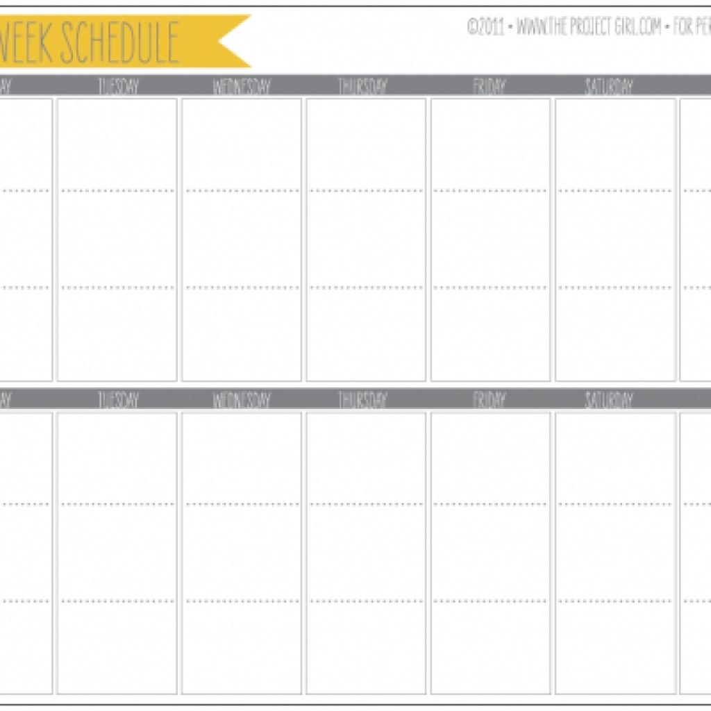 Printable 2 Week Calendar Printable Online Calendar3abry