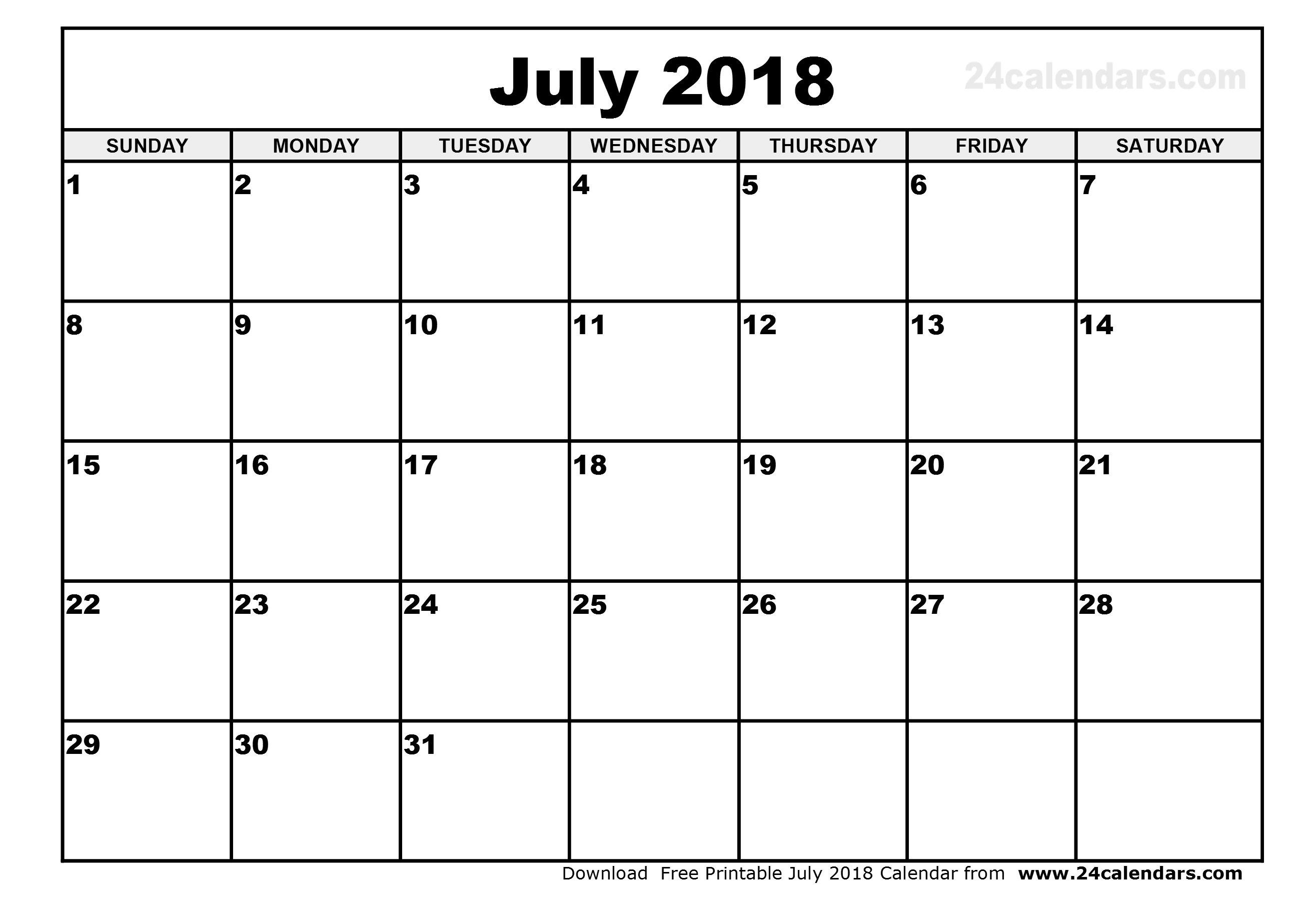 Printable Calendar July 2018 Cute Larissanaestrada 89uj