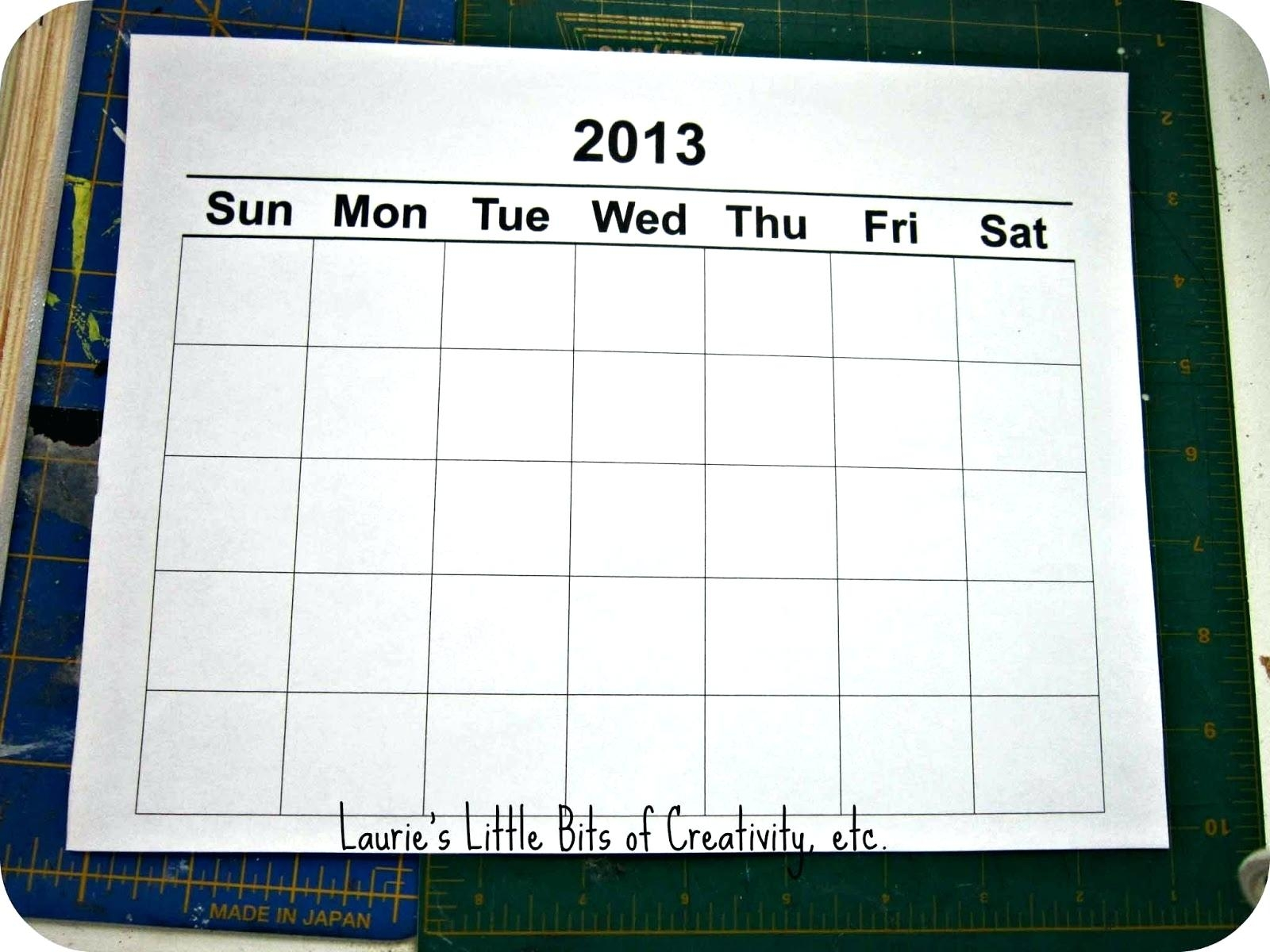 Template Publisher Weekly Calendar Template Blank Monthly3abry